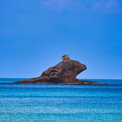Hawksbill Beach in Antigua
